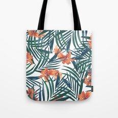 Tropical Lilies Tote Bag