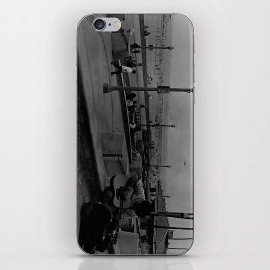 A Lone Traveller  iPhone & iPod Skin