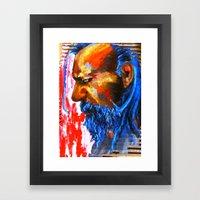 Le Sphinx des contre-allées Framed Art Print