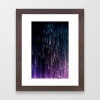 Pioggia Di Luce Framed Art Print