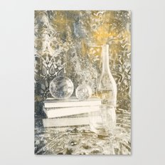 Still Life with Glass Canvas Print