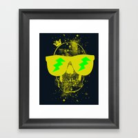 Fresh To Death Framed Art Print