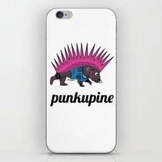 Punkupine iPhone & iPod Skin