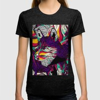 Color Husky (Feat. Bryan Gallardo) Womens Fitted Tee Tri-Black SMALL