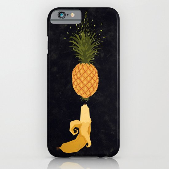 Who shot the pineapple? iPhone & iPod Case