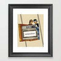 Independence Framed Art Print