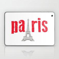 Paris Red Laptop & iPad Skin
