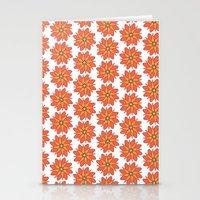 Spring Floral Pattern Stationery Cards