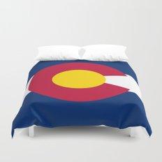 Colorado State Flag - Authentic version Duvet Cover