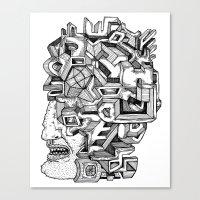 Keep an Open Mind Canvas Print