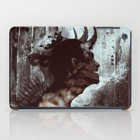 Darkness and light iPad Case