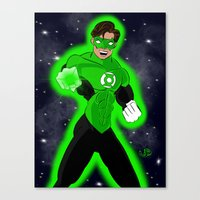Go Green or Go Home! Canvas Print