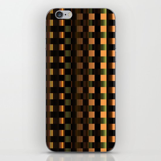 Abstract Series - Checkered pattern iPhone & iPod Skin