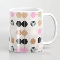 Rose Gold Dots Mug