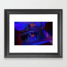 Last Sunset Framed Art Print