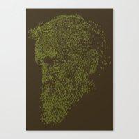 Muirly trees Canvas Print