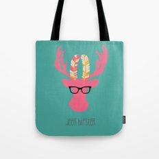 Deer Hipster Tote Bag