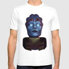 Mass Effect: Samara Mens Fitted Tee White SMALL