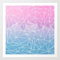 Barika Rays Art Print