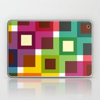 Colorful square pattern Laptop & iPad Skin