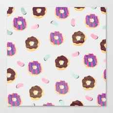 Donuts And Jelly Beans P… Canvas Print