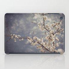White Blossom iPad Case