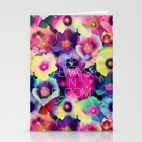 Be always in bloom Stationery Cards