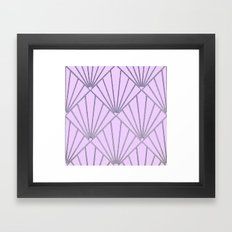 Art Deco Clams #2 Framed Art Print