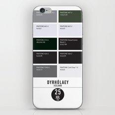 PANTONE glossary - Iceland - Dyrhólaey iPhone & iPod Skin