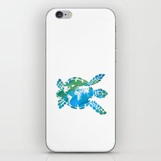 Mother Earth II iPhone & iPod Skin