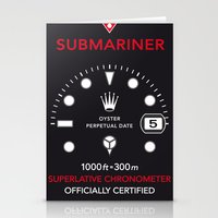 Submariner Chronometer S… Stationery Cards