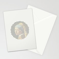 Optical Illusions - Famous Work of Art 3 Stationery Cards