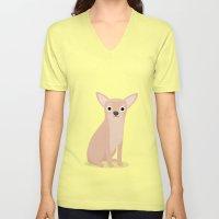 Chihuahua - Cute Dog Series Unisex V-Neck