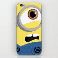 iPhone & iPod Skin featuring Minion by Janice Wong