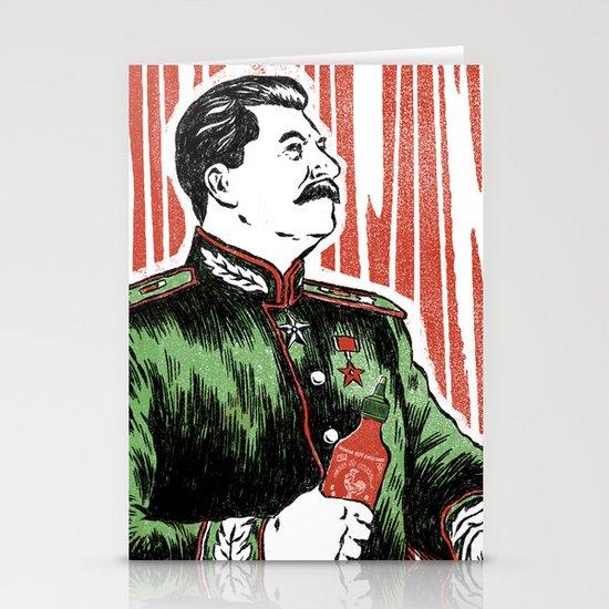 Stalin Sauce Stationery Card