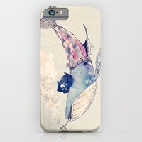 iPhone & iPod Case featuring Pirate Whale by ErDavid