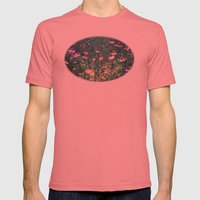 Flowers Of The Field Mens Fitted Tee Pomegranate SMALL