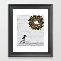 After The Park! Framed Art Print
