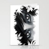 Triforce Stare Stationery Cards
