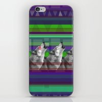 Wolves- Blue iPhone & iPod Skin