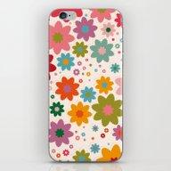 iPhone & iPod Skin featuring Slavic Flowers by Helene Michau