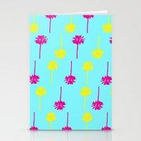 Palm Tree Madness  Stationery Cards