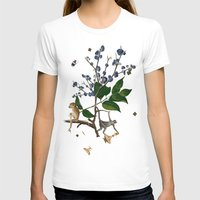 Monkey World: Apy and Vinnie Womens Fitted Tee White SMALL