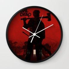 The Evil Dead Wall Clock