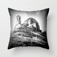 Spanish Iglesia Throw Pillow