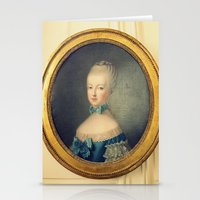 Marie Antoinette Stationery Cards