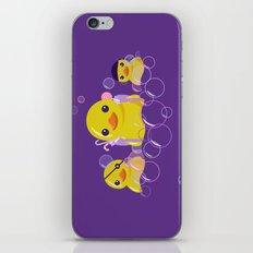 DANGERS OF THE BATHROOM iPhone & iPod Skin