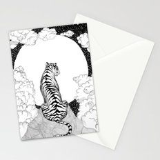 Tiger Moon Stationery Cards