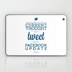 Social Media Laptop & iPad Skin