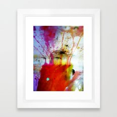 Running Away Framed Art Print